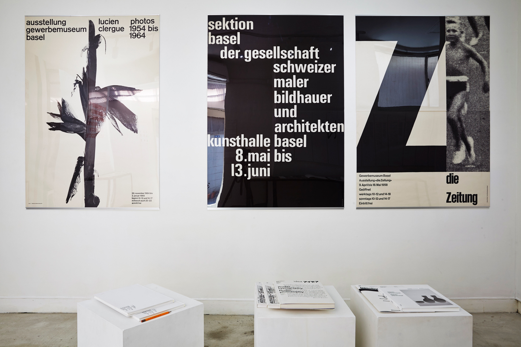 Emil Ruder Exhibition at print gallery tokyo